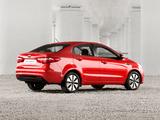 Pictures of Kia Rio Sedan CIS-spec (QB) 2011