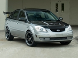 Wallpapers of Kia Rio Silver Streak (JB) 2005