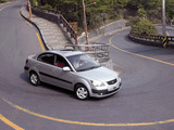Kia Rio Sedan (JB) 2005–09 wallpapers