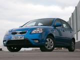 Kia Rio Hatchback UK-spec (JB) 2009–11 wallpapers