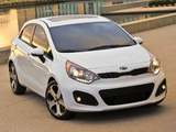 Kia Rio 5-door US-spec (UB) 2011 wallpapers