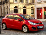 Kia Rio 5-door UK-spec (UB) 2011 wallpapers