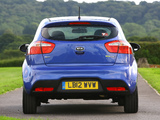 Kia Rio 3-door EcoDynamics UK-spec (UB) 2012 wallpapers