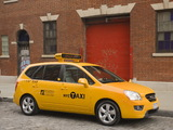 Kia Rondo Taxi Cab Concept 2007 wallpapers