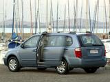 Kia Sedona LWB ZA-spec 2007–11 images