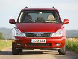 Kia Sedona SWB UK-spec 2010 images