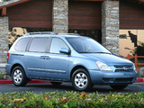 Photos of Kia Sedona SWB 2006–10