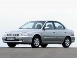 Photos of Kia Sephia II 1997–2001