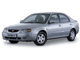 Kia Shuma II UK-spec 2001–04 wallpapers