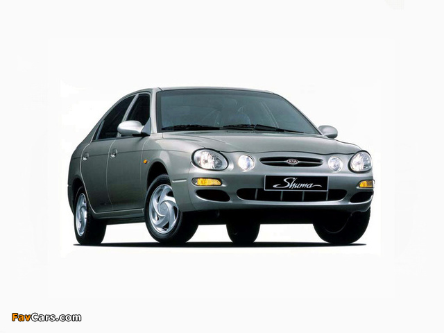 Kia Shuma 1997–2001 wallpapers (640 x 480)