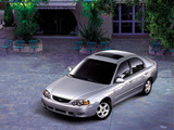 Kia Shuma II 2001–04 wallpapers