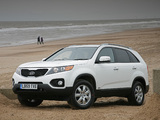 Kia Sorento UK-spec (XM) 2009 pictures