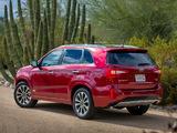 Kia Sorento SX US-spec (XM) 2012 pictures