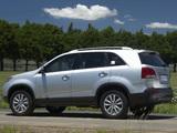 Pictures of Kia Sorento ZA-spec (XM) 2009–12
