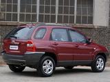 Images of Kia Sportage ZA-spec (KM) 2005–08