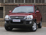 Images of Kia Sportage ZA-spec (KM) 2005–08