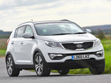 Images of Kia Sportage UK-spec 2010