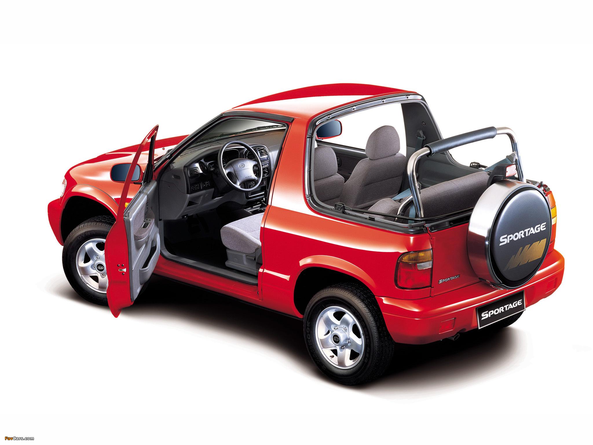 Kia Sportage Convertible 1998–2002 images (2048x1536)