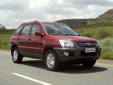 Kia Sportage ZA-spec (KM) 2005–08 photos