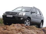 Kia Sportage ZA-spec (KM) 2005–08 pictures