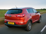 Kia Sportage UK-spec 2010 pictures