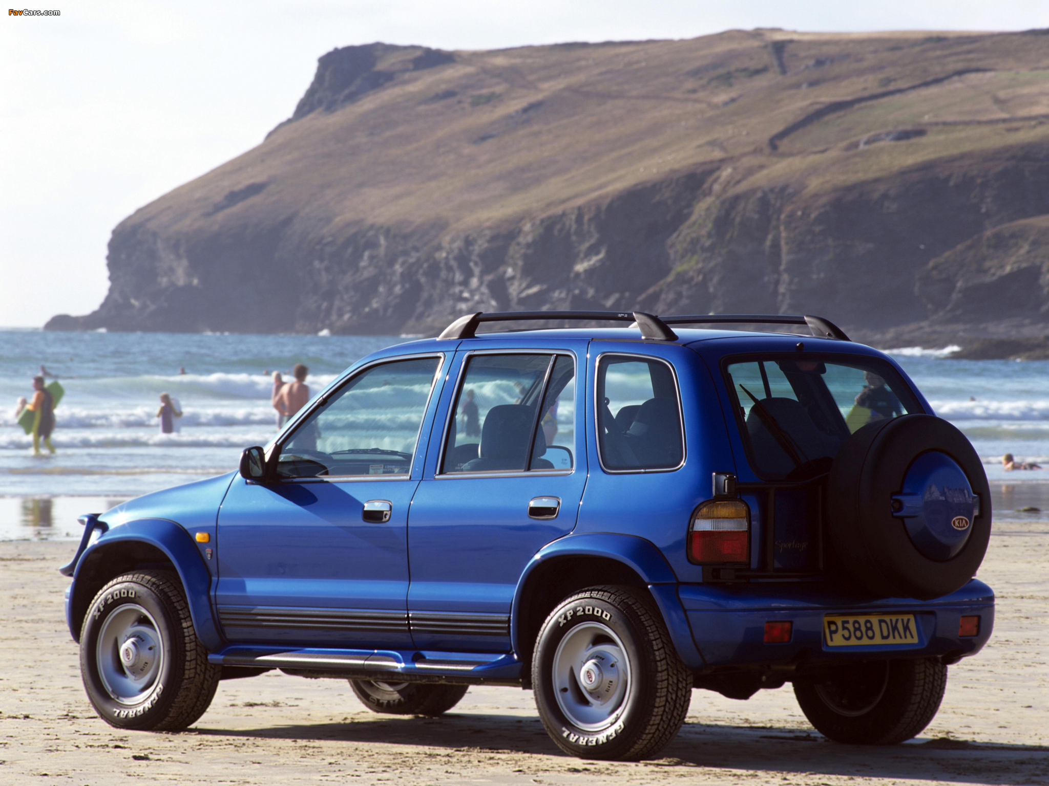 Photos of Kia Sportage Karmann Sport SE UK-spec 1996–99 (2048 x 1536)