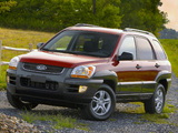 Photos of Kia Sportage US-spec (KM) 2004–08