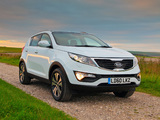Photos of Kia Sportage UK-spec 2010