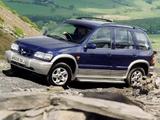 Pictures of Kia Sportage GSX UK-spec 1999–2003
