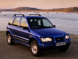 Kia Sportage Karmann Sport SE UK-spec 1996–99 wallpapers