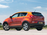 Kia Sportage UK-spec 2010 wallpapers