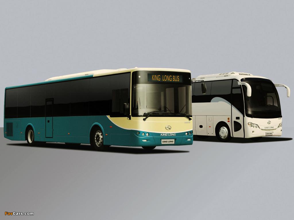 Photos of King Long XMQ6800 Coach & XMQ6127 City Bus (1024 x 768)