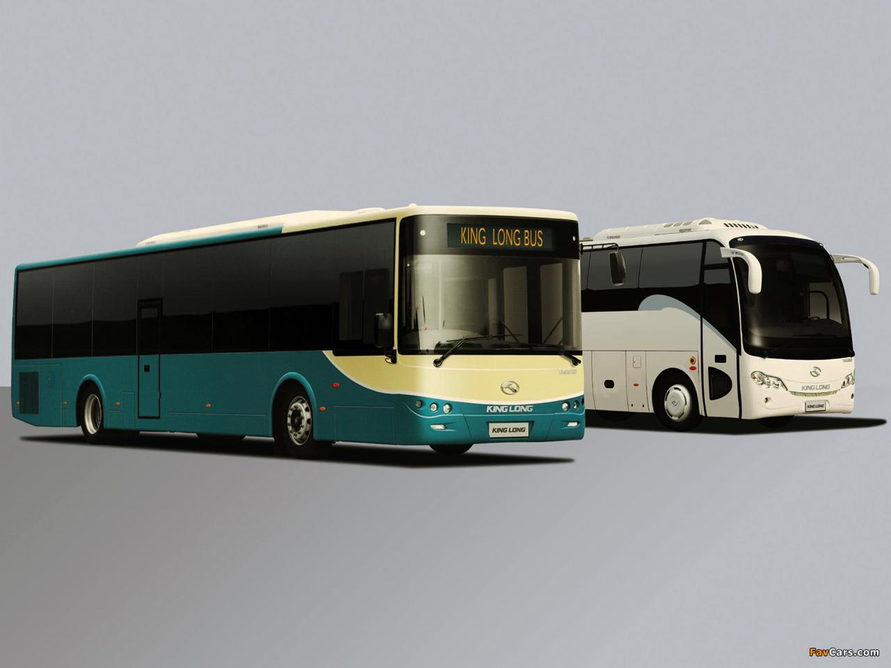 Photos of King Long XMQ6800 Coach & XMQ6127 City Bus (1280 x 960)