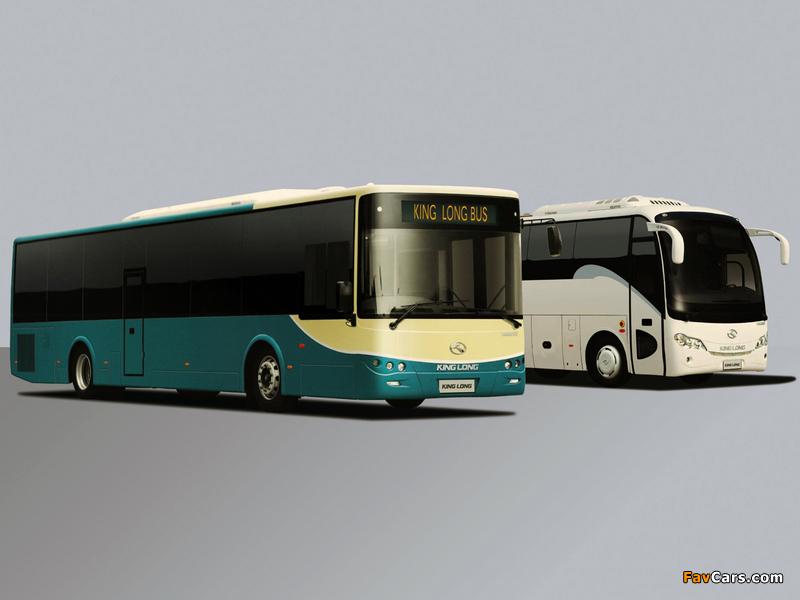 Photos of King Long XMQ6800 Coach & XMQ6127 City Bus (800 x 600)