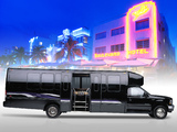 Pictures of Krystal 33 LS Limo Bus Ford F-550 XLT Super Duty