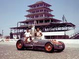 Pictures of Kurtis Kraft Offenhauser Indy 500 1953