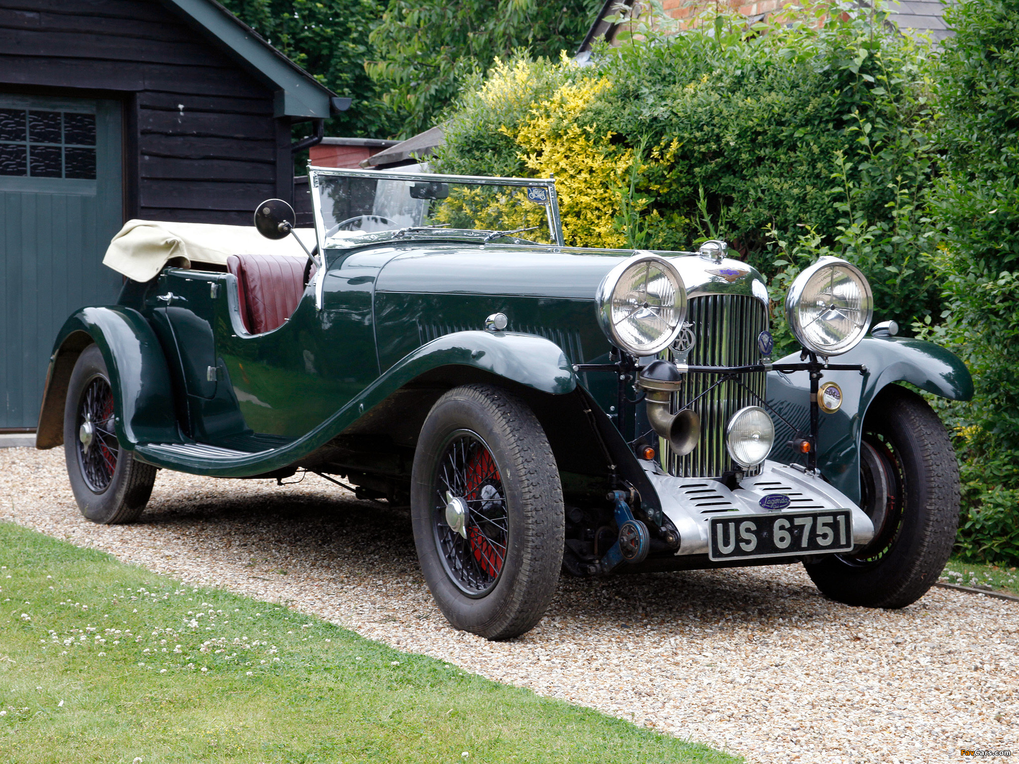 Pictures of Lagonda 16/80 Special Six Tourer 1934 (2048 x 1536)