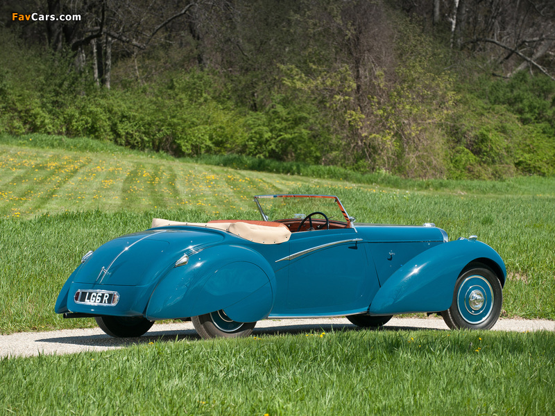 Lagonda LG6 Rapide Drophead Coupe 1938 wallpapers (800 x 600)