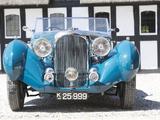 Lagonda LG6 Rapide Drophead Coupe 1938 wallpapers