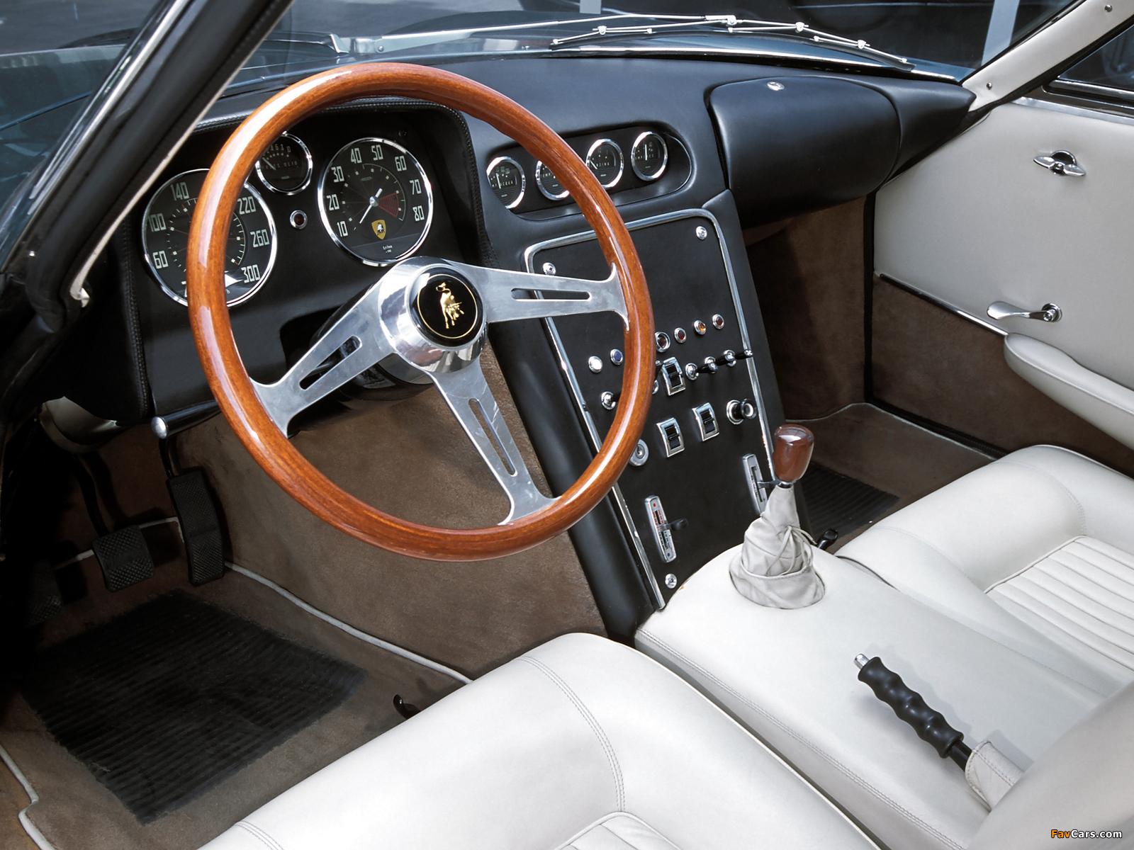 Lamborghini 350 GTV 1963 pictures (1600 x 1200)