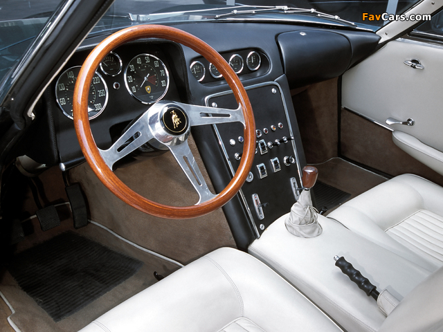 Lamborghini 350 GTV 1963 pictures (640 x 480)
