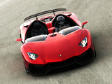 Images of Lamborghini Aventador J 2012