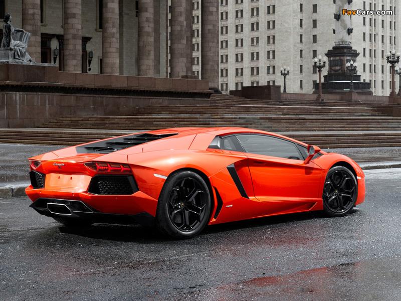Lamborghini Aventador LP 700-4 (LB834) 2011 pictures (800 x 600)