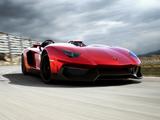 Photos of Lamborghini Aventador J 2012