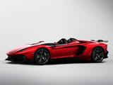 Pictures of Lamborghini Aventador J 2012