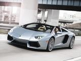 Pictures of Lamborghini Aventador LP 700-4 Roadster US-spec (LB834) 2013