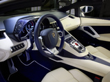Pictures of Lamborghini Aventador LP 700-4 Roadster Ad Personam (LB834) 2014