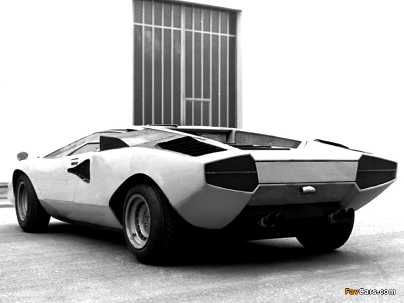 Lamborghini Countach Lp500 Prototype 1971 Photos 800x600