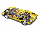 Lamborghini Countach LP400 1974–78 photos