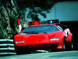 Lamborghini Countach LP400 S Monte Carlo GP Pace Car 1980 wallpapers